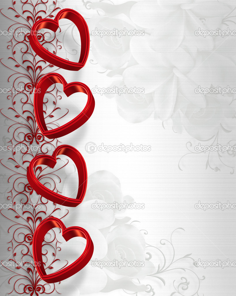 Valentines Day Borders And Frames Valentines day hearts border