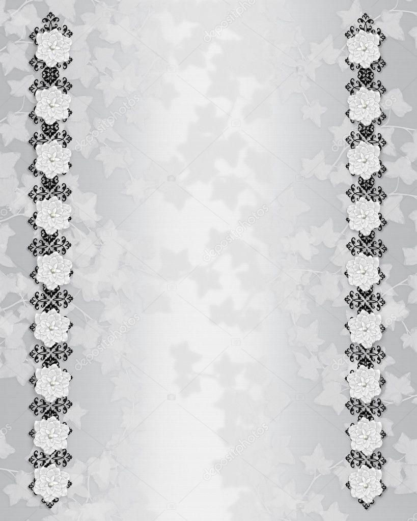 Black and White Elegant Borders