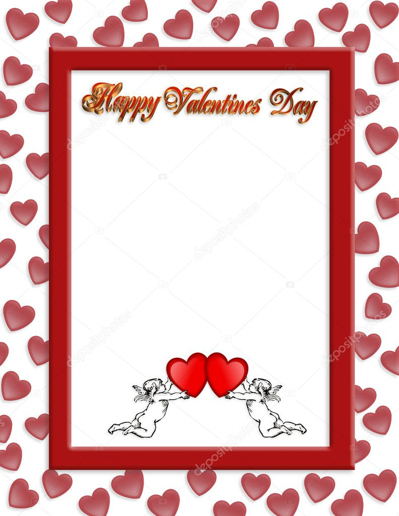 Valentines Borders | New Calendar Template Site