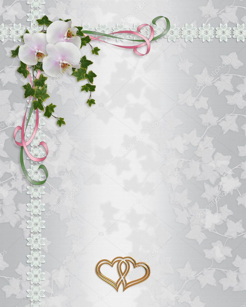 Standard Wedding Invitation Size for adorable invitations example