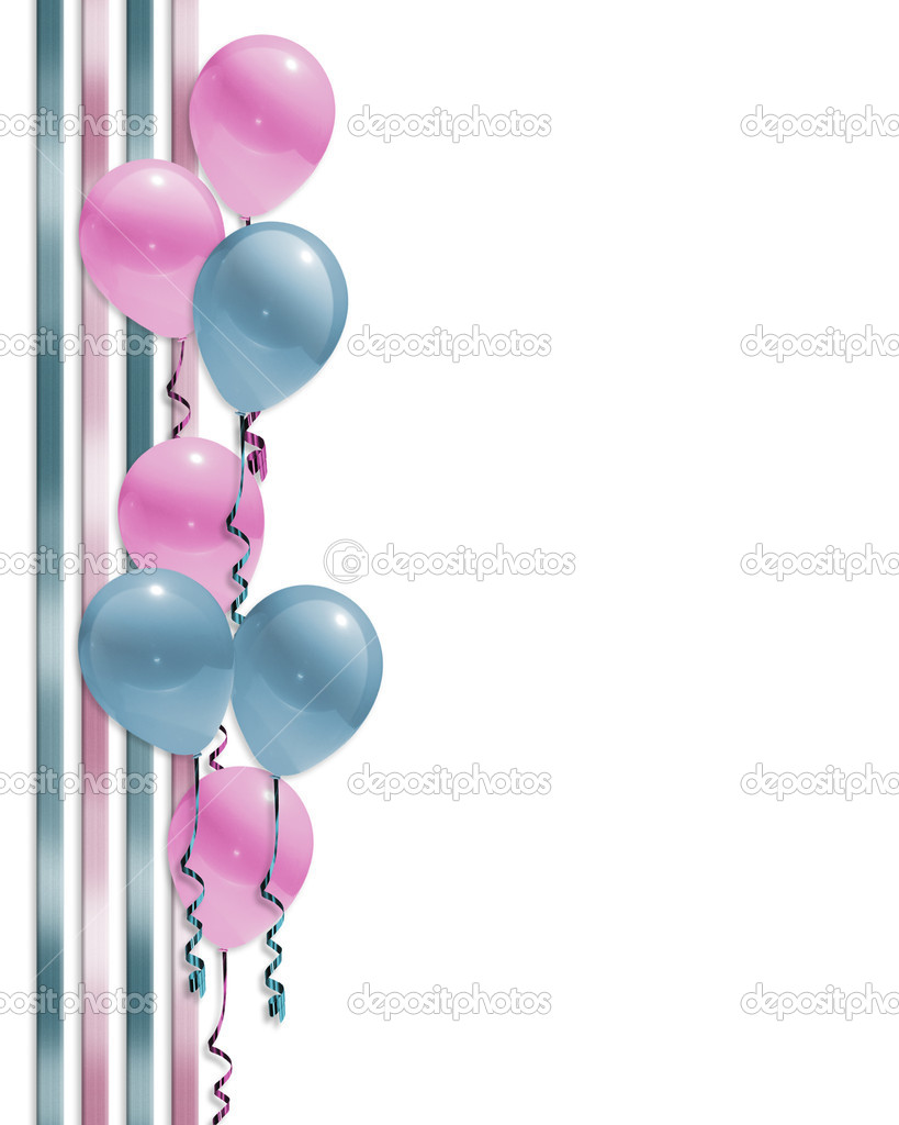 Baby Shower Borders