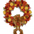 Autumn Fall Floral wreath — Stock Photo