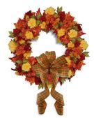 Autumn Fall Floral wreath — Stock Photo