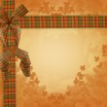 Thanksgiving Autumn Fall ribbons — Stock Photo #2143709