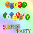 Happy Birthday Surprise Party — Stock Photo