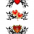 Red Hearts Design elements — Stock Photo #2145665