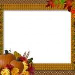 Thanksgiving Autumn Fall Background — Stock Photo