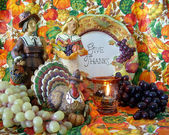 Thanksgiving still life — Stock Photo