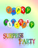 Happy Birthday Surprise Party — Stock Photo