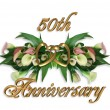 Stock Photo: 50th Anniversary CallLilies