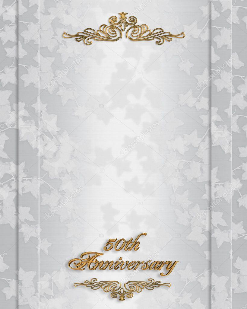 50e invitation anniversaire de mariage photographie for 50e anniversaire de mariage