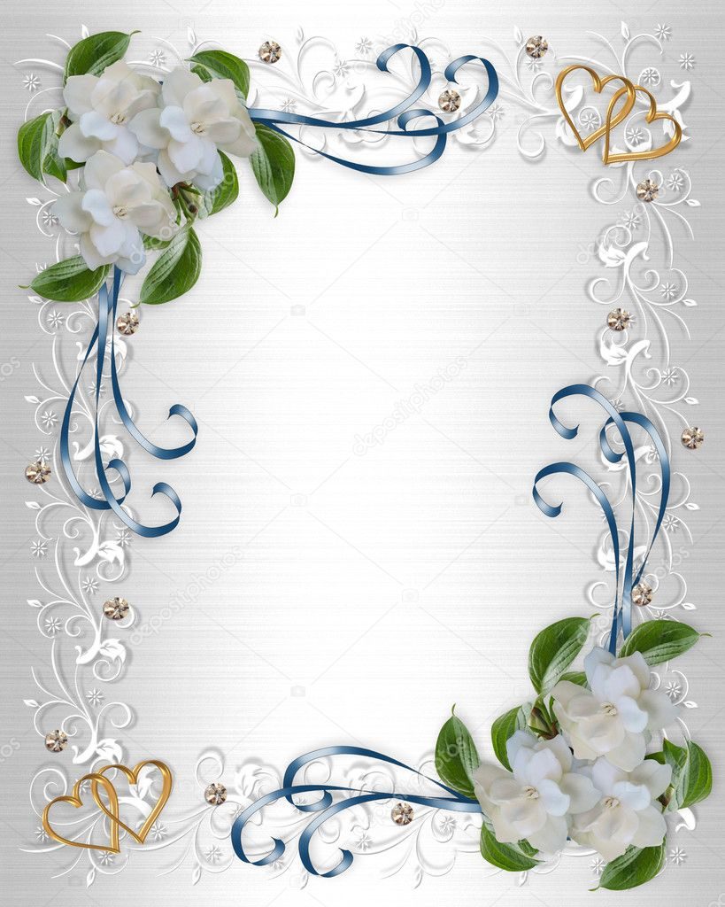Free Wedding Invitation Borders Clip Art