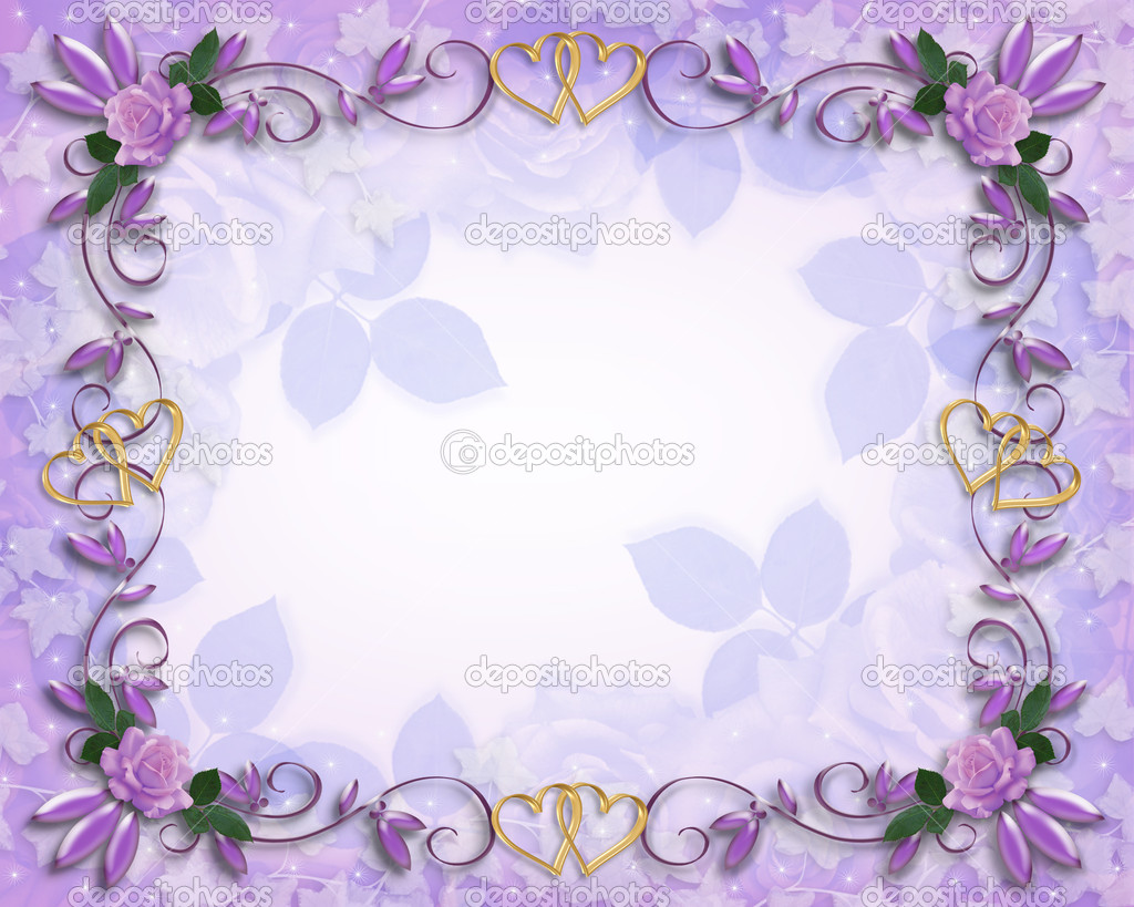 Lavender roses design template for Valentine, birthday or wedding ...