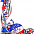 Election Day Vote 2010 — Stock Photo