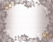 Wedding Invitation Background Fairies — Stock Photo