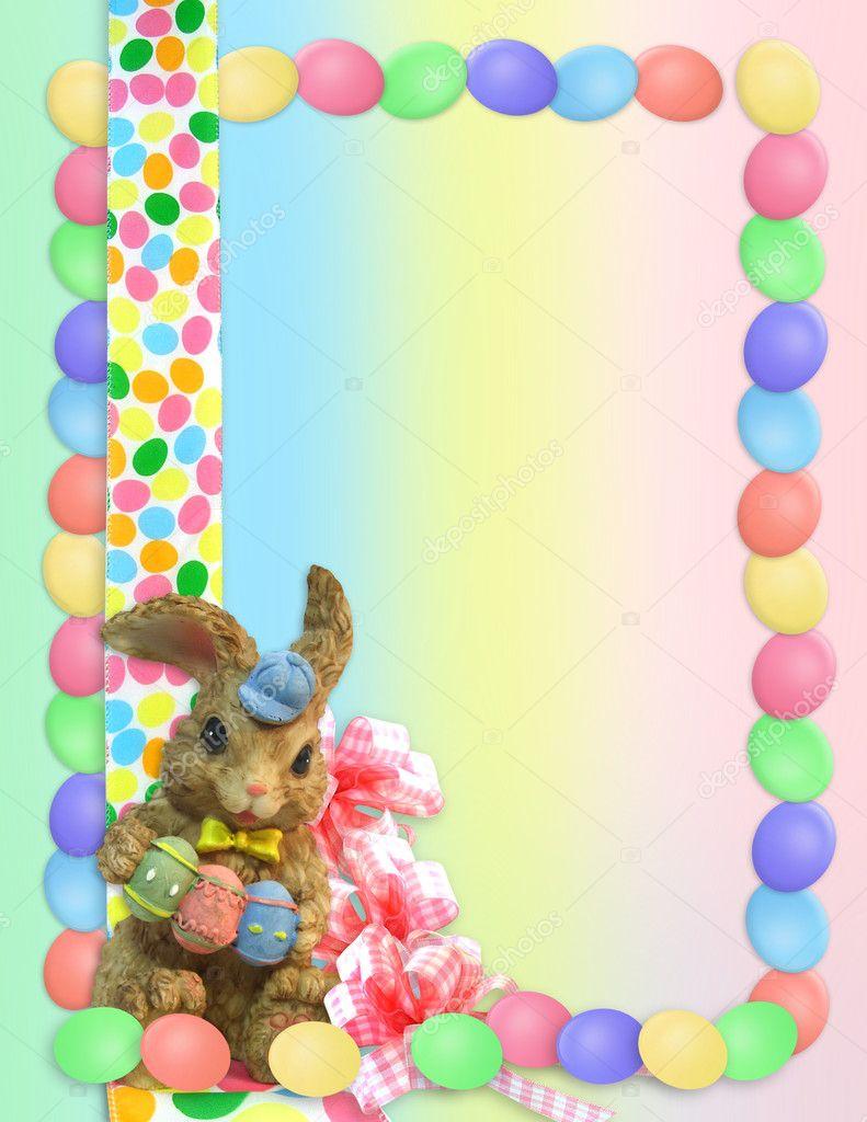 easter bunny border