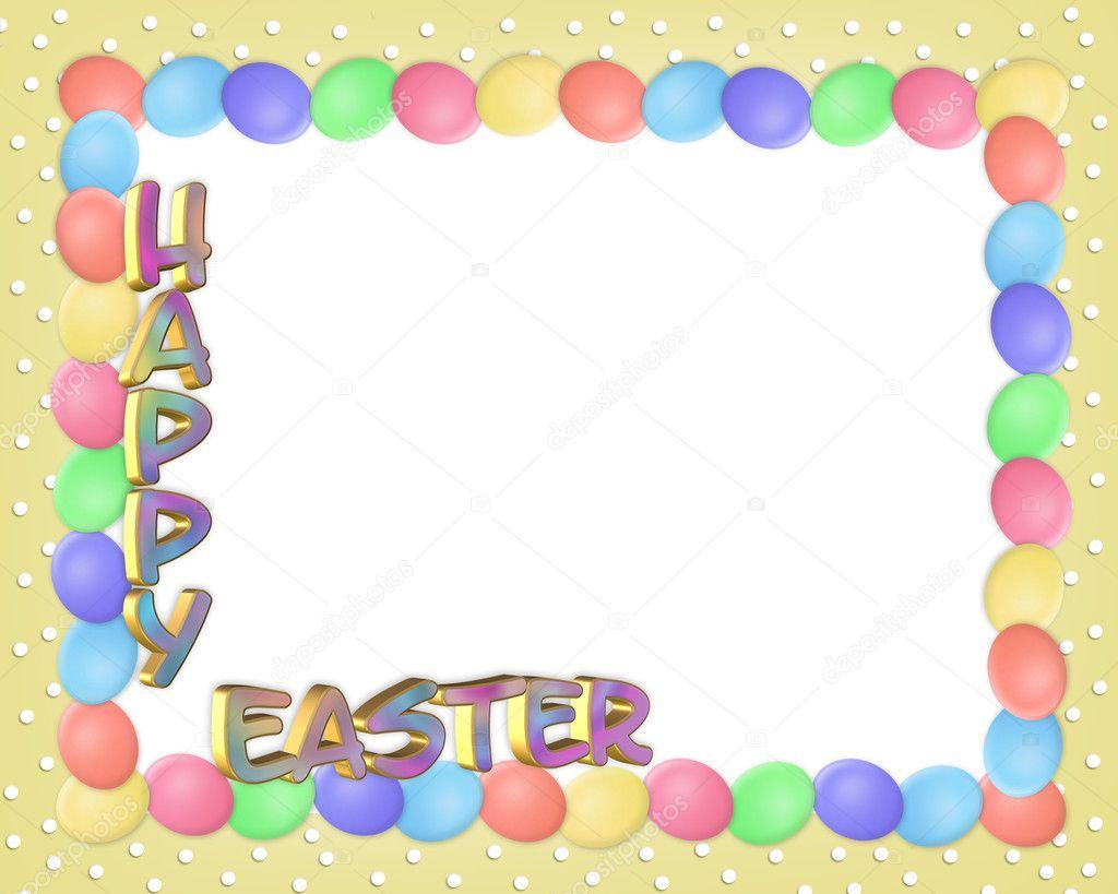 Easter Borders Frames - comousar