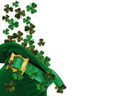 St patricks day shamrocks — Stockfoto