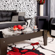 Foto Stock: Abstract luxury sofa