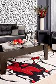абстрактный роскошный диван — Стоковое фото