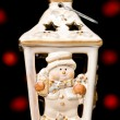Christmas candle holder — Stock fotografie #2076341