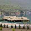 Foto de Stock  : Prehistoric settlement at Ohrid Lake