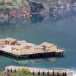 Prehistoric settlement at Ohrid Lake — 图库照片 #2076630