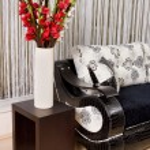 Abstract luxury sofa — Stock Photo