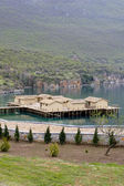 Prehistoric settlement at the Ohrid Lake — Foto de Stock