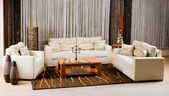 Luxe sofa — Stockfoto