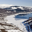 Mavrovo Lake, Macedonia — Stock Photo