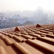 Roof over Bansko ski-center in Bulgaria — Stock Photo #2087029