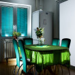 Foto Stock: Kitchen table