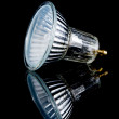 Foto Stock: Small halogen lightbulb