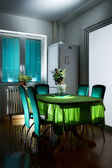 Kitchen table — Stockfoto