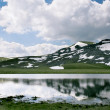 Glacial lake in Macedonia - Foto Stock