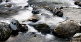 River flow — Stock Photo