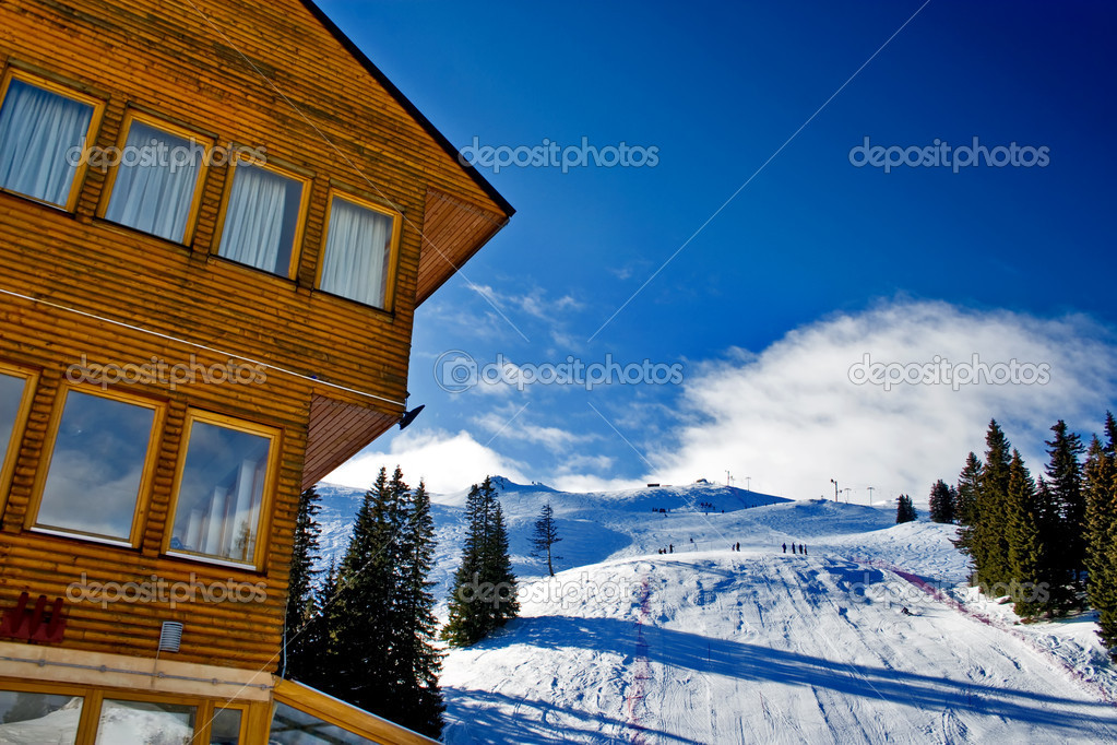 Jahorina Ski Center in Republic of Srpska, Bosnia and Hercegovina — Stock Photo #2102877