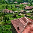 Old village in Macedona - Foto Stock