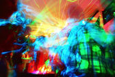 Partido de disco — Foto Stock