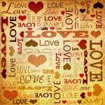 Love doodles — Stock Photo