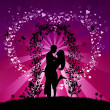 Background Valentine&#039;s Day - Stock Photo