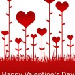 Happy Valentine&#039;s Day illustration - Stock Photo
