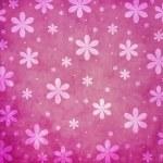 Grunge pink flower background — Stock Photo