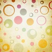 Illustration rétro cercles — Photo