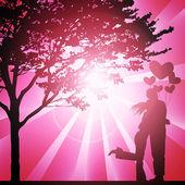 Valentine's day illustration — Foto de Stock