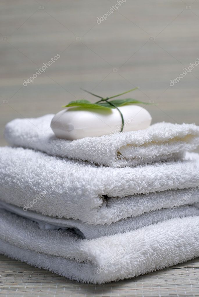 Soap and spa collection  Stock Photo #2121040