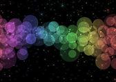 闪闪发光的灯背景 — 图库照片