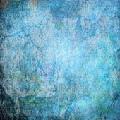 Azul grunge ilustración — Stockfoto