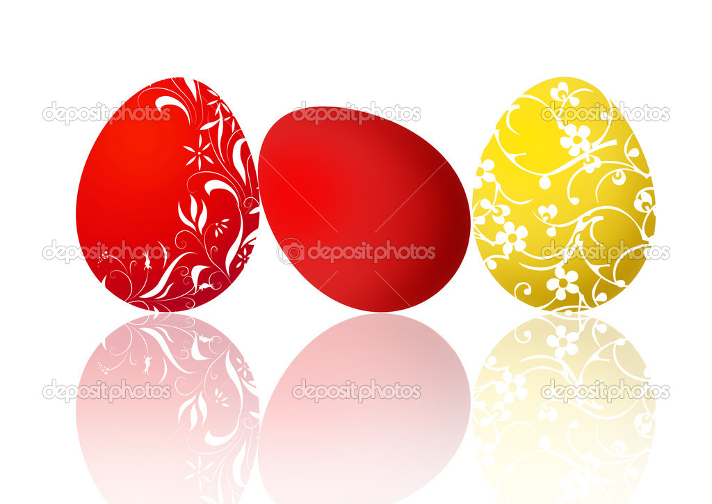 Easter egg illustration — Stock Photo #2388992